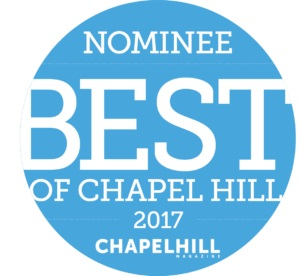 2017 Nominee Best of Chapel Hill NC Medical Day Spa of Chapel Hill