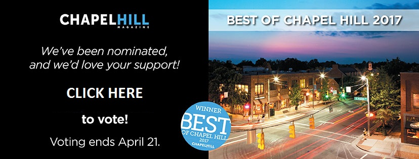 2017 Nominee Best of Chapel Hill - Medical Day Spa of Chapel Hill NC