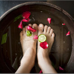 Sanitary Pedicure at Medical Day Spa of Chapel Hill