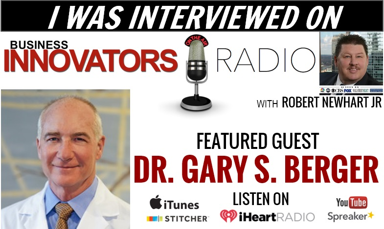 Dr. Gary S. Berger In The News