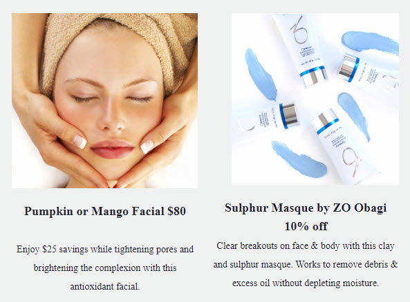 Pumpkin or Mango Facial and Obagi Products 10% OFF at Medical Day Spa of Chapel Hill NC