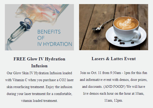 FREE IV Hydration Infusion and Laser Event at Medical Day Spa of Chapel Hill NC