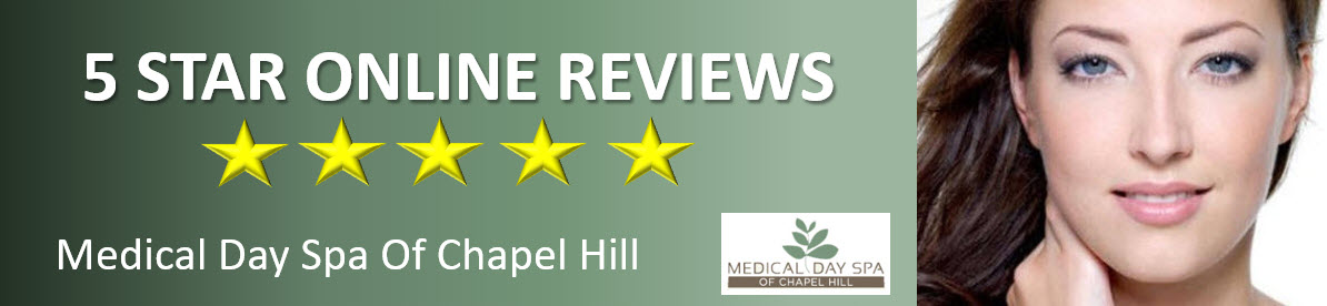 Google Online Reviews for Medical Day Spa of Chapel Hill NC