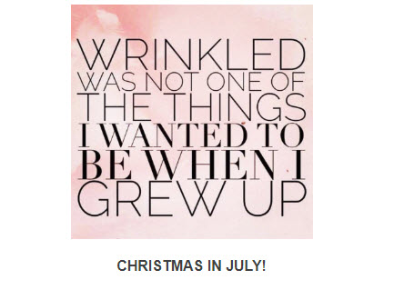 Christmas In July at Medical Day Spa of Chapel Hill NC